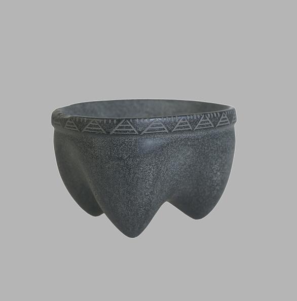 Basalt「Mortar, 4500-3000 BC. Artist: Prehistoric Russian Culture」:写真・画像(4)[壁紙.com]