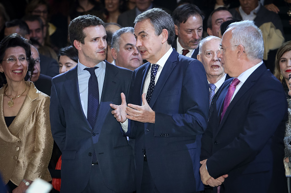 Jose Luis Rodriguez Zapatero「Spanish Royals Attend A Concert To Commemorate The 40th Anniversary of the Spanish Constitution」:写真・画像(8)[壁紙.com]