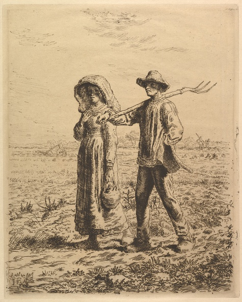 Etching「Peasants Going To Work」:写真・画像(8)[壁紙.com]
