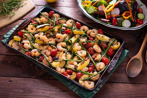 Asparagus「Shrimp Sheet Pan」:スマホ壁紙(0)
