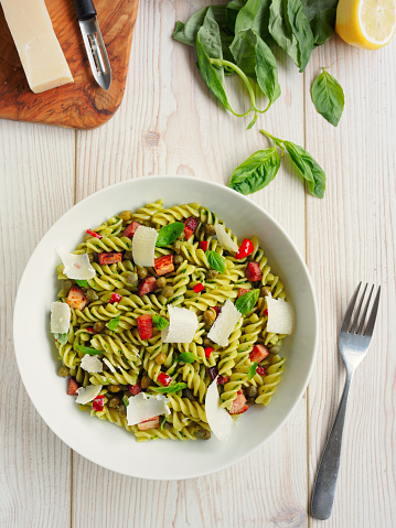 Chili Con Carne「Healthy Pasta salad」:スマホ壁紙(7)