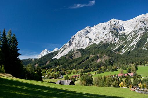 Dachstein Mountains「Austria, Styria, Ramsau am Dachstein, Dachstein Mountains」:スマホ壁紙(13)