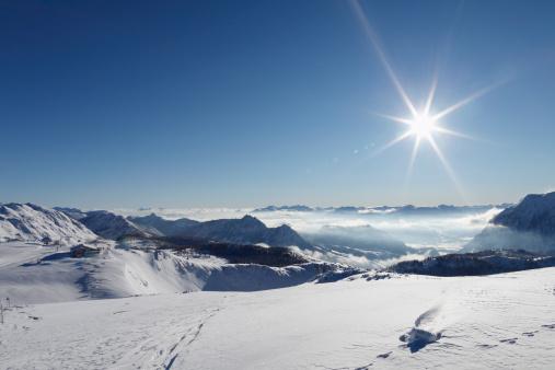 Ski Resort「Austria, Styria, View of skiing region Tauplitzalm」:スマホ壁紙(6)