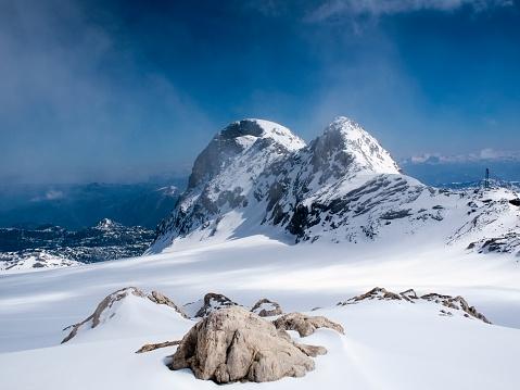 Dachstein Mountains「Austria, Styria, Alps, Dachstein Mountains」:スマホ壁紙(1)