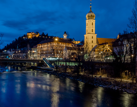 Graz「Austria, Styria, Graz, Grazer Schlossberg, Franciscan Church」:スマホ壁紙(14)