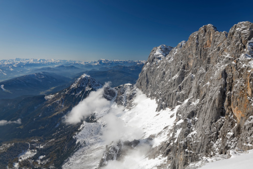 Dachstein Mountains「Austria, Styria, View from Hunerkogel and Dachstein Mountains」:スマホ壁紙(14)