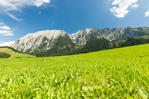 Dachstein Mountains「Austria, Styria, Styrian Salzkammergut, Grimming mountain」:スマホ壁紙(13)