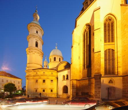 Graz「Austria, Styria, Graz, View of Mausoleum of Ferdinand II」:スマホ壁紙(16)