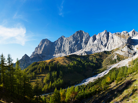 Dachstein Mountains「Austria, Styria, Salzkammergut, Dachstein massif, Dachstein south face」:スマホ壁紙(13)