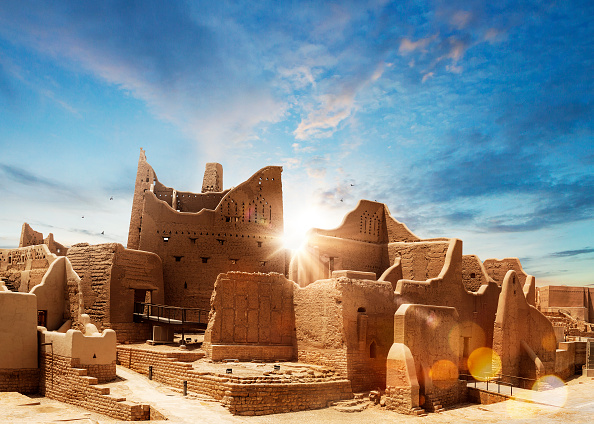 Cityscape「UNESCO World Heritage Site At-Turaif in Diriyah, Riyadh, Kingdom of Saudi Arabia」:写真・画像(3)[壁紙.com]