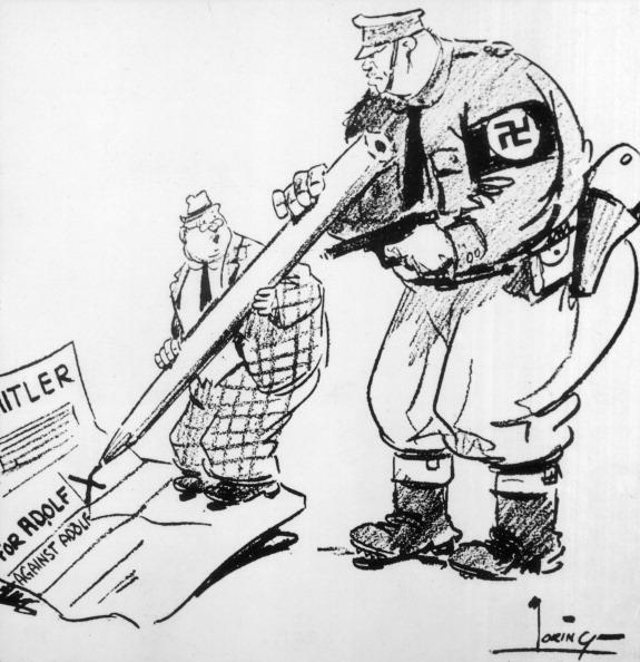 Politics and Government「Nazi Cartoon」:写真・画像(7)[壁紙.com]