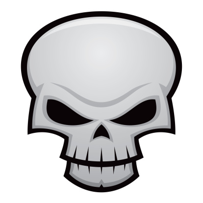 Evil「Evil Skull」:スマホ壁紙(7)