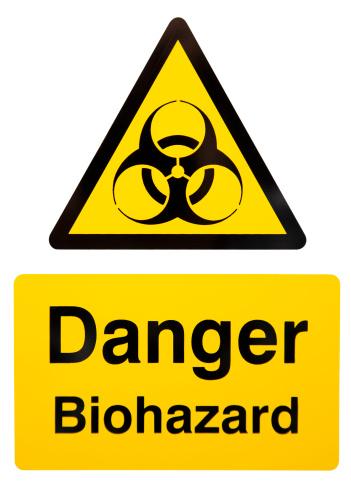 Biology「Biohazard Warning Sign」:スマホ壁紙(13)