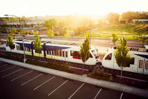 Electric train「Light Rail Commuting Portland Oregon」:スマホ壁紙(7)