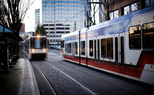 Electric train「オレゴン州ポートランドの路面電車通勤」:スマホ壁紙(6)