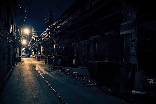 Spooky「Dark City Alley」:スマホ壁紙(17)