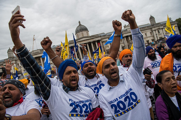 Sikhism「Sikh For Justice Hold Rally On Separate State Punjab」:写真・画像(2)[壁紙.com]