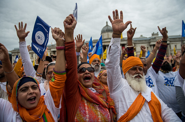 Sikhism「Sikh For Justice Hold Rally On Separate State Punjab」:写真・画像(9)[壁紙.com]