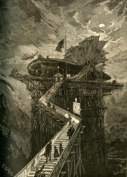 Passenger Boarding Bridge「All Aboard For The Moon!」:写真・画像(13)[壁紙.com]