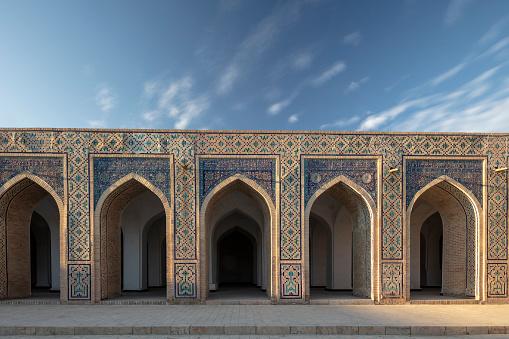 Iranian Culture「Kalyan Mosque corridors in Bukhara, Uzbekistan」:スマホ壁紙(10)