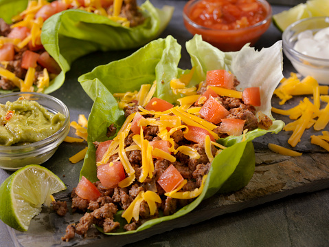 Taco「Low Carb - Lettuce Wrap Beef Taco」:スマホ壁紙(16)