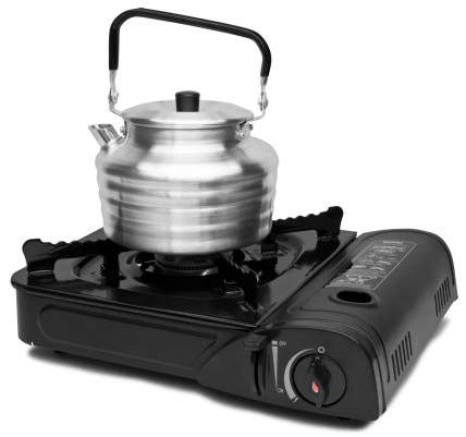 Camping Stove「Camp stove with kettle」:スマホ壁紙(12)