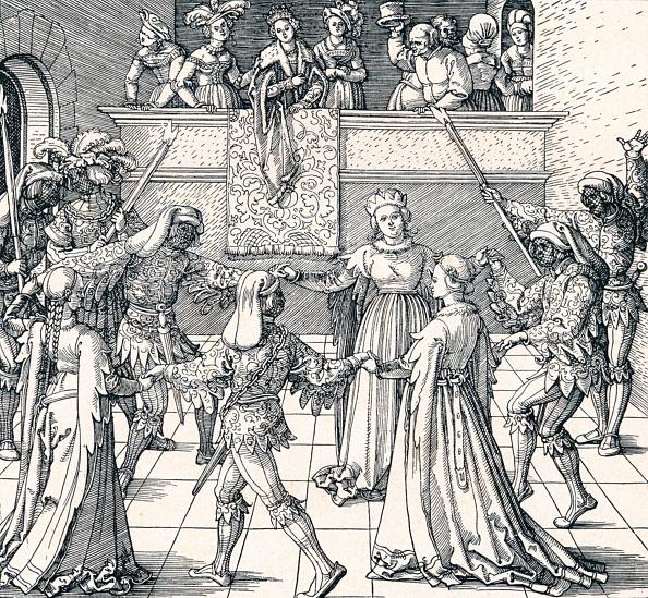 Renaissance「'Dance by Torchlight, Augsburg', 1516 (1906). Artist: Albrecht Durer.」:写真・画像(13)[壁紙.com]
