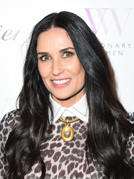 ポートレート「Visionary Women Honors Demi Moore in Celebration of International Women's Day」:写真・画像(1)[壁紙.com]