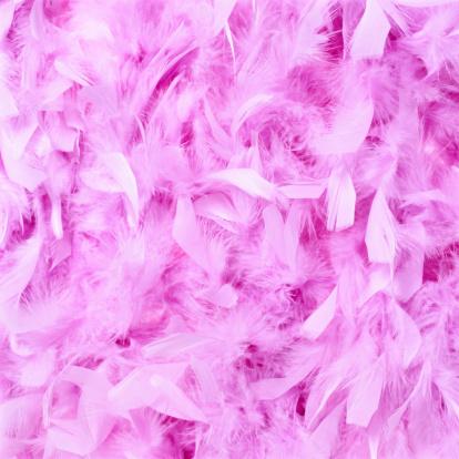 ふわふわ「Pink Feathers」:スマホ壁紙(2)