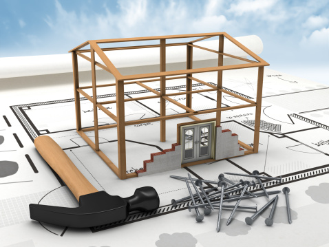 Housing Project「House construction」:スマホ壁紙(13)