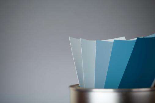 Color Swatch「Color scale BLUE」:スマホ壁紙(9)
