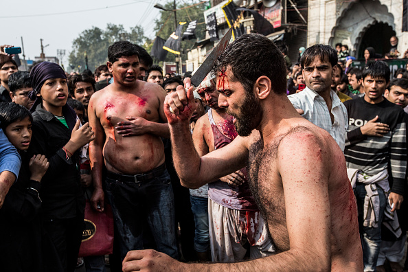 Imam Hussein「Muslims Mark Ashura In Delhi」:写真・画像(9)[壁紙.com]