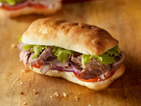 Mayonnaise「Rustic Roast Beef Sandwich」:スマホ壁紙(15)
