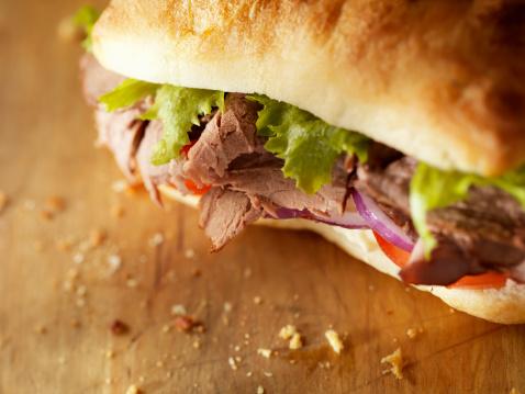 Gourmet「Rustic Roast Beef Sandwich」:スマホ壁紙(11)