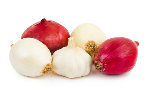 Garlic Clove「Shallot and garlic」:スマホ壁紙(16)