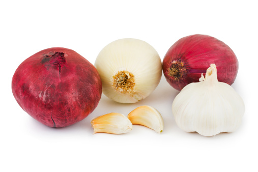 Garlic Clove「Shallot and garlic」:スマホ壁紙(2)