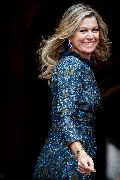 Queen Máxima「Dutch Royal Family Attends New Year Reception At Royal Palace In Amsterdam」:写真・画像(4)[壁紙.com]