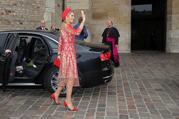 Netherlands「King Willem-Alexander and Queen Maxima of The Netherlands Visit Germany」:写真・画像(4)[壁紙.com]