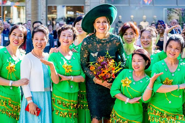 Utrecht「Queen Maxima Of the Netherlands Celebrates 20th Anniversary Of Leidsche Rijn」:写真・画像(7)[壁紙.com]