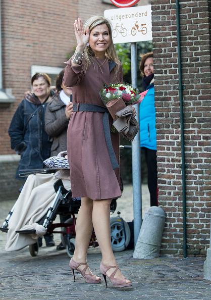 Coat - Garment「Queen Maxima Of The Netherlands Attends Five Years Schuldhulpmaatje」:写真・画像(16)[壁紙.com]