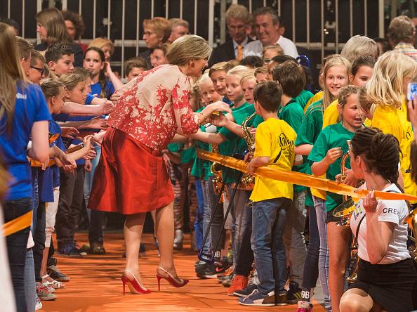 Utrecht「Queen Maxima Of The Netherlands Attends Children's Concert」:写真・画像(14)[壁紙.com]