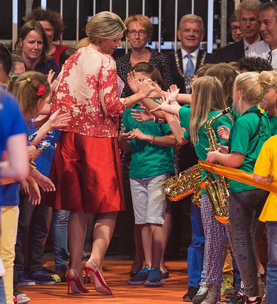Utrecht「Queen Maxima Of The Netherlands Attends Children's Concert」:写真・画像(11)[壁紙.com]