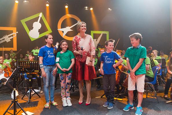 Utrecht「Queen Maxima Of The Netherlands Attends Children's Concert」:写真・画像(10)[壁紙.com]