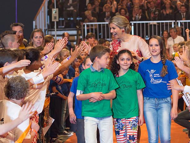 Queen Maxima Of The Netherlands Attends Children's Concert:ニュース(壁紙.com)