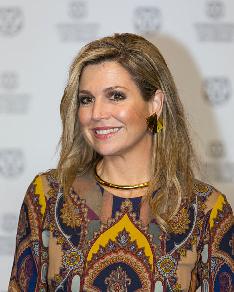 Queen Máxima「Queen Maxima Of The Netherlands Attends Opening Rotterdam International Film Festival」:写真・画像(15)[壁紙.com]