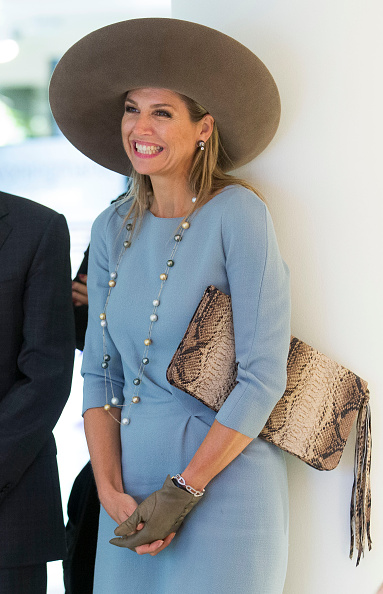 Queen Máxima「Queen Maxima Of The Netherlands Opens Visitor Center Netherlands Bank In Amsterdam」:写真・画像(11)[壁紙.com]