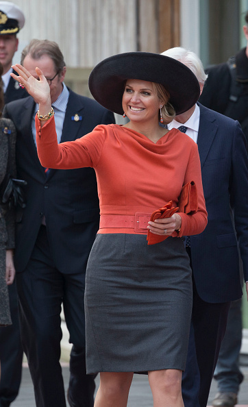 Netherlands「Queen Maxima of The Netherlands and King Willem-Alexander of The Netherlands Visit The North East Of Holland」:写真・画像(17)[壁紙.com]