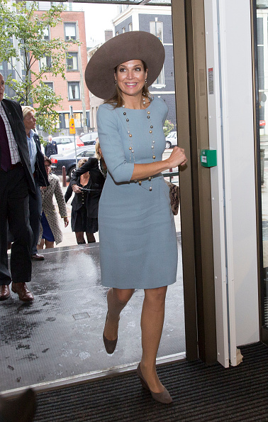 Dutch Royalty「Queen Maxima Of The Netherlands Opens Visitor Center Netherlands Bank In Amsterdam」:写真・画像(13)[壁紙.com]