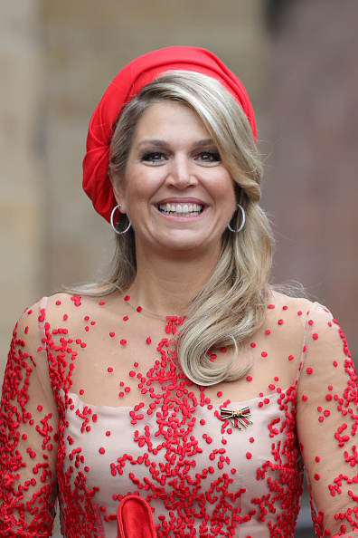 Queen Máxima「King Willem-Alexander and Queen Maxima of The Netherlands Visit Germany」:写真・画像(6)[壁紙.com]
