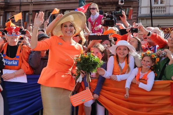 Wiesbaden「King Willem-Alexander And Queen Maxima Visit Hesse」:写真・画像(7)[壁紙.com]